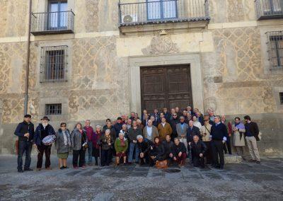 Visita de los vecinos de Santa María de la Alameda (Sexmo de Casarrubios) a la Casa de la Tierra.