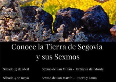 Visitas guiadas «Conoce la Tierra de Segovia y sus Sexmos», Primavera 2019